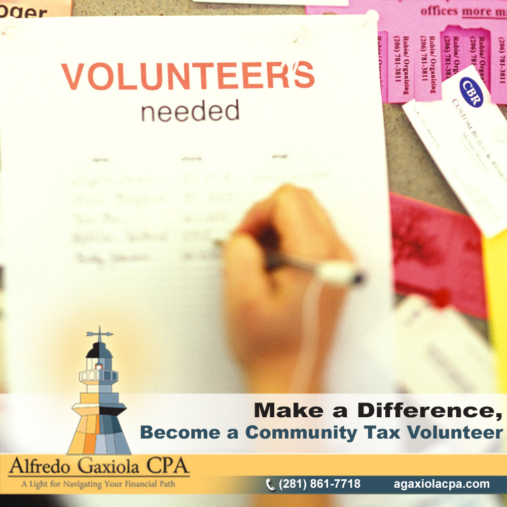 Alfredo Gaxiola Cpa Make A Difference Become A Community Tax